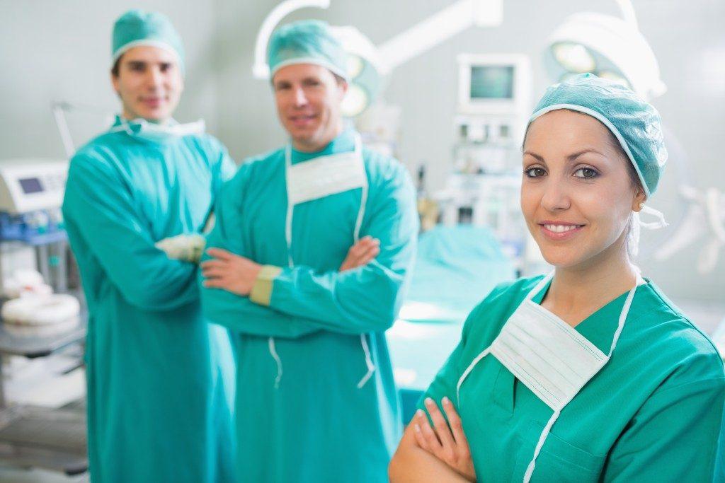 smiling surgeons
