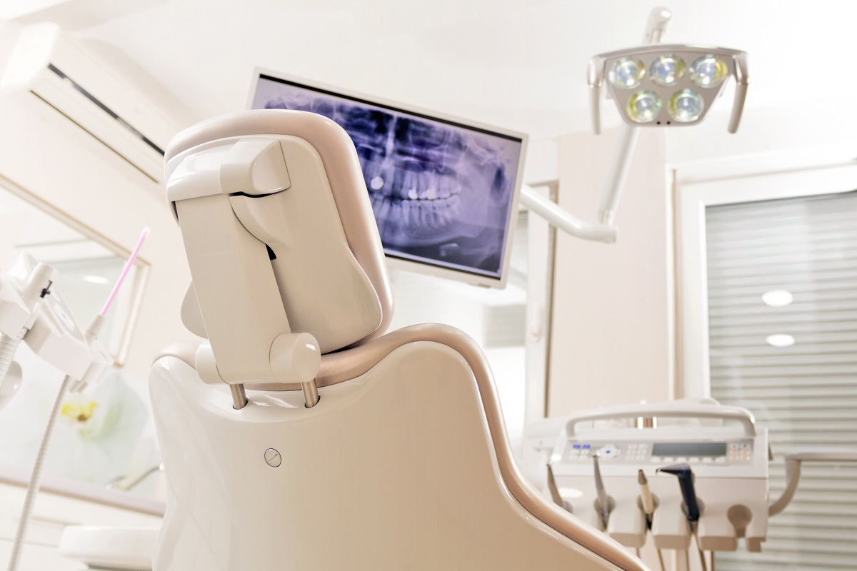 Dentist chair and equiptments