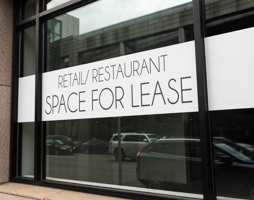Retail and restaurant space for lease