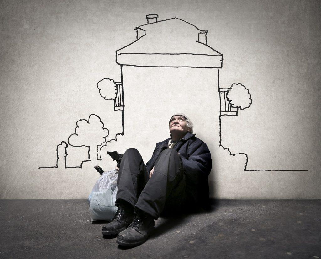 homeless concept